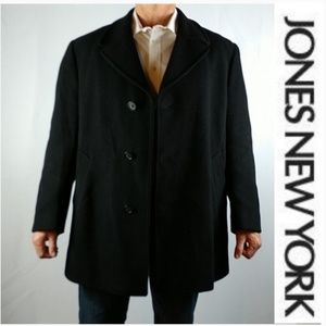 Wool Jones New York Mid Top Coat